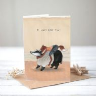 Mia Hague 'I Just Love You' Card